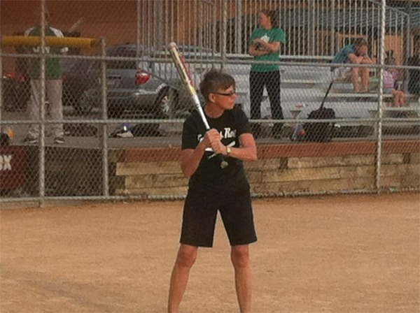 Sherry at Bat